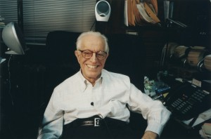 Dr Albert Ellis creator of rational emotive behavior therapy