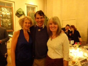 Dr Joffe Ellis with Dr Eben Alexander (New York Times best-seller author) and Karen Newell, at a recent event.